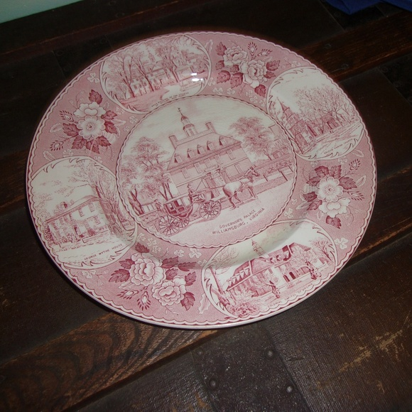 Old English Staffordshire Plate Other - Governors Palace Williamsburg Virginia Plate